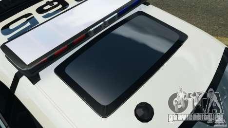 Dodge Challenger SRT8 392 2012 Police [ELS][EPM] для GTA 4 двигатель