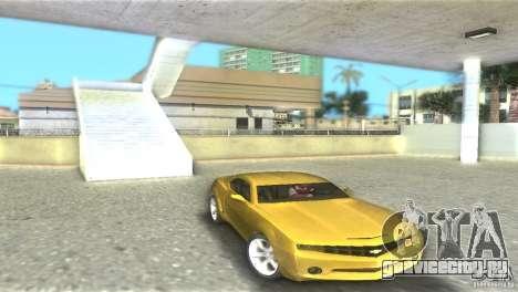 Chevrolet Camaro для GTA Vice City вид сзади