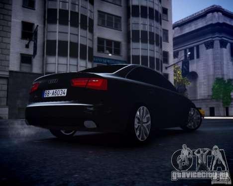 Audi A6 2012 для GTA 4 вид справа
