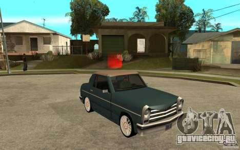 Perenial Coupe для GTA San Andreas вид сзади