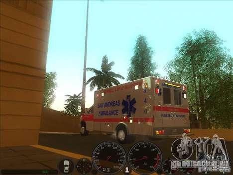 Ford E-350 Ambulance 2 для GTA San Andreas вид слева
