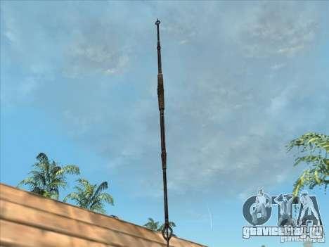 Копье Хищника для GTA San Andreas второй скриншот