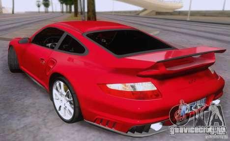 Porsche 911 GT2 для GTA San Andreas вид слева