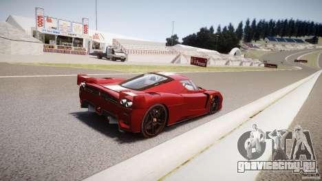 Ferrari FXX для GTA 4 вид снизу