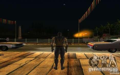Scorpion v2.2 MK 9 для GTA San Andreas третий скриншот