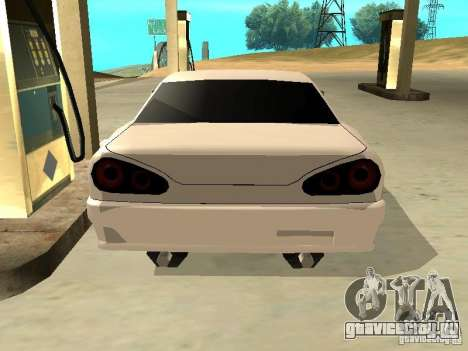 New Elegy v.1 для GTA San Andreas вид слева