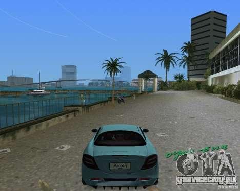 Mercedess Benz SLR Maclaren для GTA Vice City вид справа