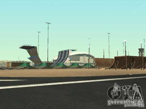 Drift track and stund map для GTA San Andreas второй скриншот