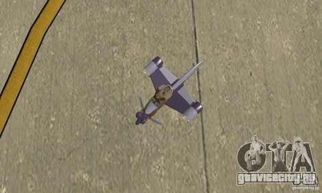 Flying Fish для GTA San Andreas вид справа