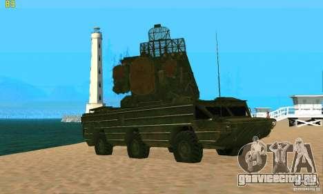 9К33 Оса для GTA San Andreas вид слева