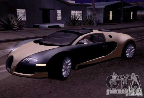 Bugatti Veyron Grand Sport Classic Final для GTA San Andreas вид слева