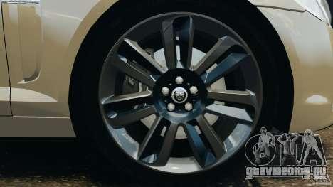 Jaguar XFR 2010 v2.0 для GTA 4 салон