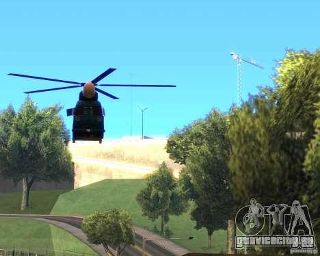Cops Hoddogeres для GTA San Andreas вид справа