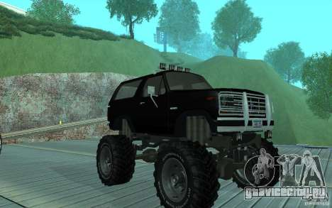 Ford Bronco Monster Truck 1985 для GTA San Andreas
