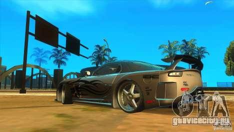 ENBSeries by Fallen для GTA San Andreas седьмой скриншот