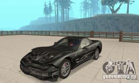 Chevrolet Corvette 5 для GTA San Andreas вид сбоку