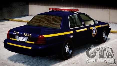 Ford Crown Victoria New York State Patrol [ELS] для GTA 4 салон