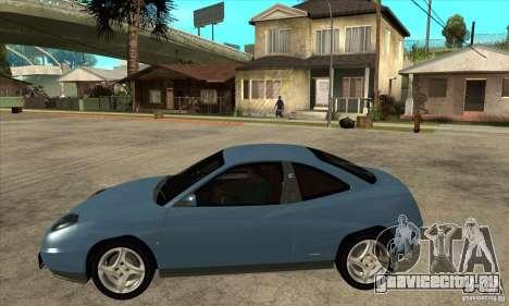 Fiat Coupe - Stock для GTA San Andreas вид слева
