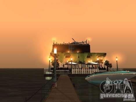 Клуб на воде для GTA San Andreas восьмой скриншот