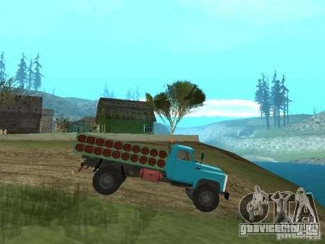 ГАЗ-53 баллоновоз для GTA San Andreas вид слева
