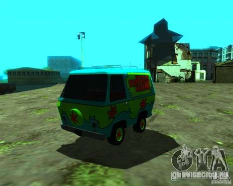 Mystery Machine для GTA San Andreas