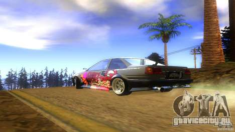 Toyota AE86 Coupe - Final для GTA San Andreas вид слева