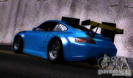 Porsche 911 GT3  RWB для GTA San Andreas вид сзади слева