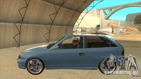 Opel Astra F Tuning для GTA San Andreas вид слева
