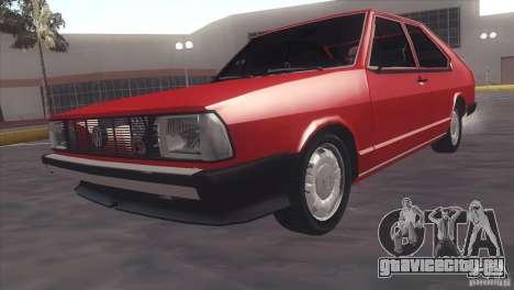 Volkswagen Passat TS 1981 Original для GTA San Andreas