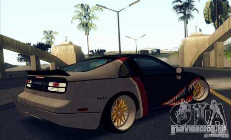 Nissan 300ZX Bad Shark для GTA San Andreas вид сбоку
