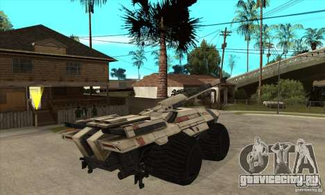 M35 Mako для GTA San Andreas вид справа