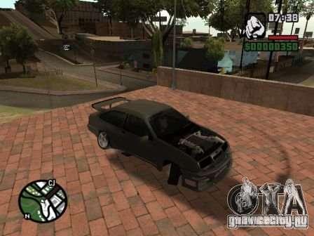 Ford Sierra Drift для GTA San Andreas вид слева