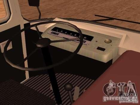 ПАЗ 672.60 для GTA San Andreas вид сбоку