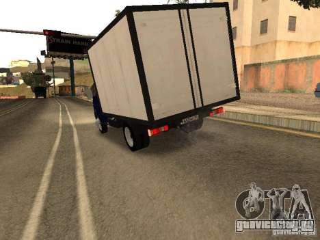 ГАЗ 3302-14 для GTA San Andreas вид справа