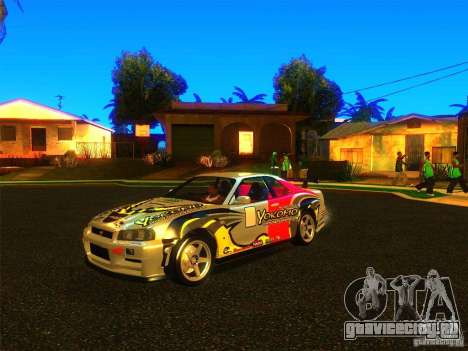 Nissan Skyline R34 Nismo для GTA San Andreas