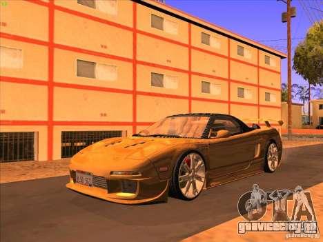 Acura NSX 1991 Tunable для GTA San Andreas