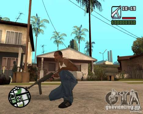 MP 40 для GTA San Andreas второй скриншот