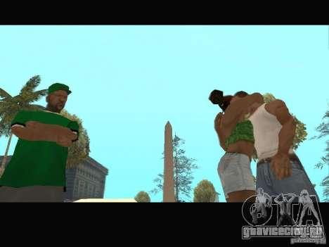 New Sweet, Smoke and Ryder v1.0 для GTA San Andreas девятый скриншот