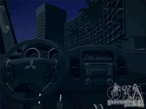 Mitsubishi Pajero для GTA San Andreas вид сверху