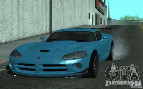 Dodge Viper SRT10 ACR для GTA San Andreas вид слева
