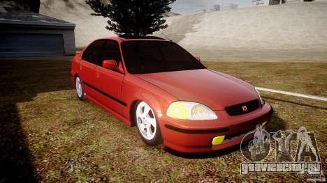 Honda Civic Vti для GTA 4 вид сзади