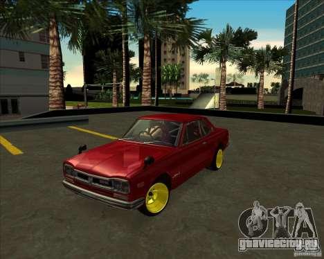 Nissan Skyline GTR 2000 для GTA San Andreas