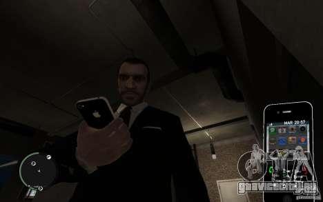 iPhone 4 black для GTA 4 второй скриншот