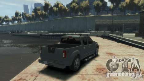Nissan Frontier для GTA 4 вид слева