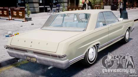 Ford Mercury Comet 1965 для GTA 4 двигатель