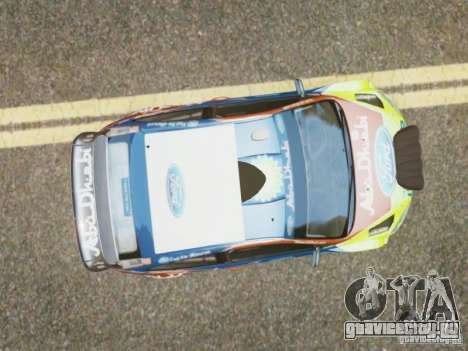 Ford Focus RS WRC для GTA 4 вид справа