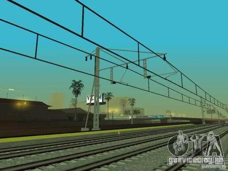 Высокоскоростная ЖД линия для GTA San Andreas девятый скриншот