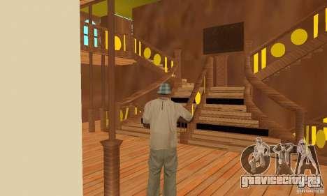 RMS Titanic для GTA San Andreas колёса