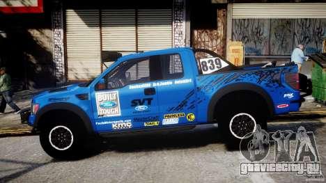 Ford F150 Racing Raptor XT 2011 для GTA 4 вид слева