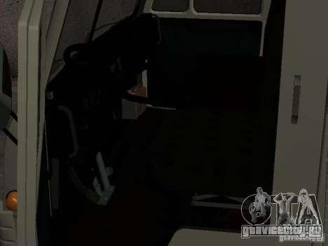 КамАЗ 4310 Вахта для GTA San Andreas вид справа